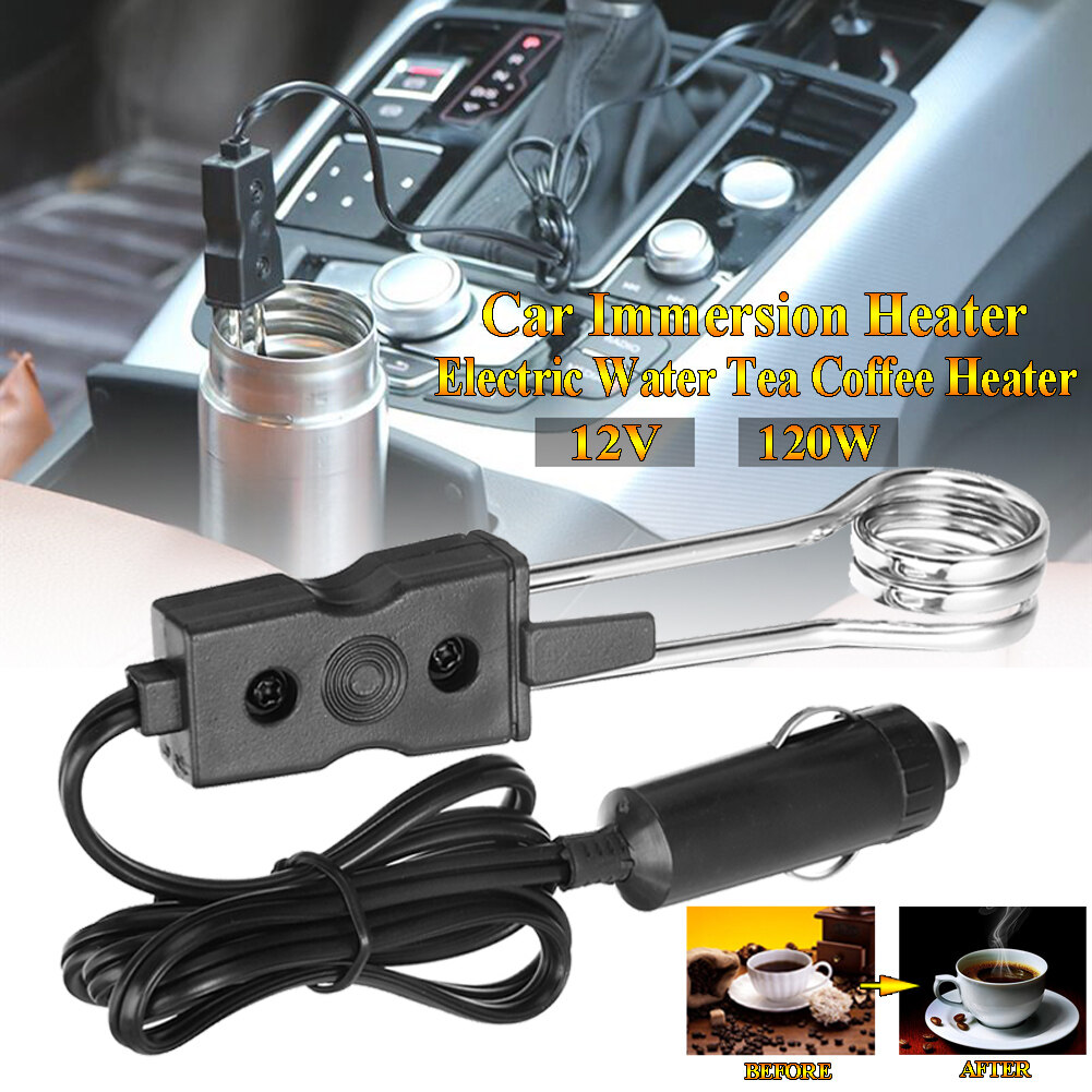 Hot Boiler Portable Electric Immersion Portable Water Heater  Auto  Coffee Tea