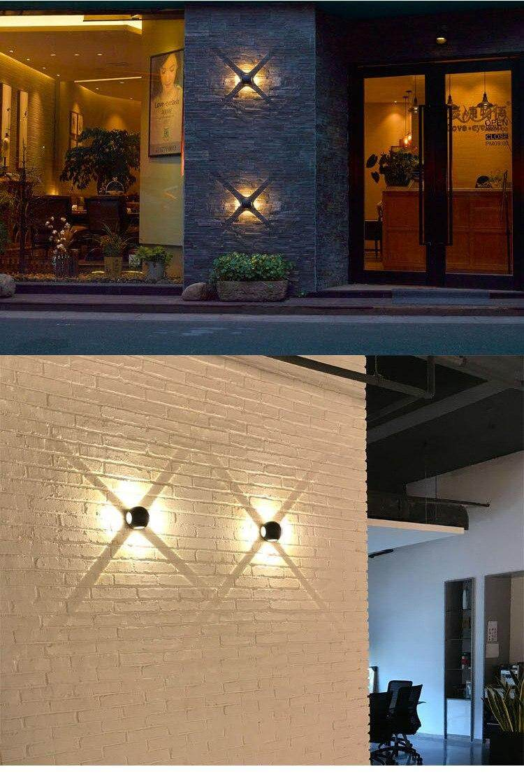 Modern Led Wall Lamp Up down Wall light decoration Sconce TV background  picture lamps aisle bra Home Lighting Luminaire wall art