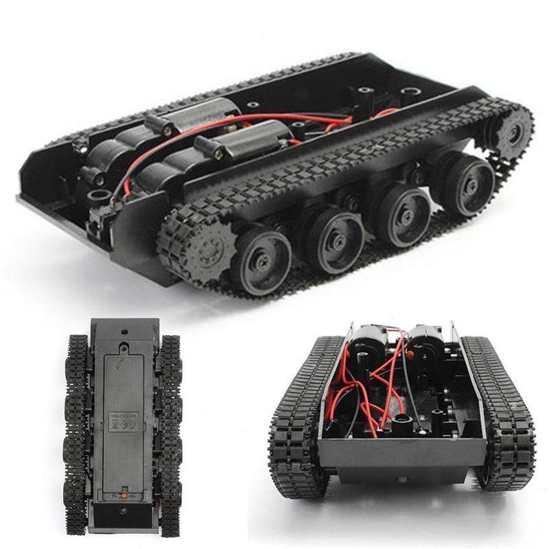 DIY Smart Robot Tank Tracked Car Tank Chassis Kit with Crawler for Arduino