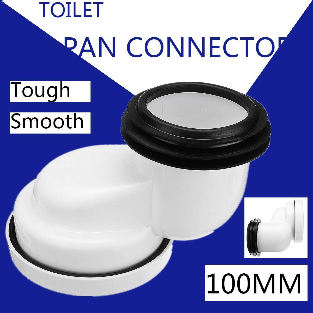 PVC Offset Misaligned Toilet Waste Pan Connector Bowl Smooth Soil Pipe 100mm