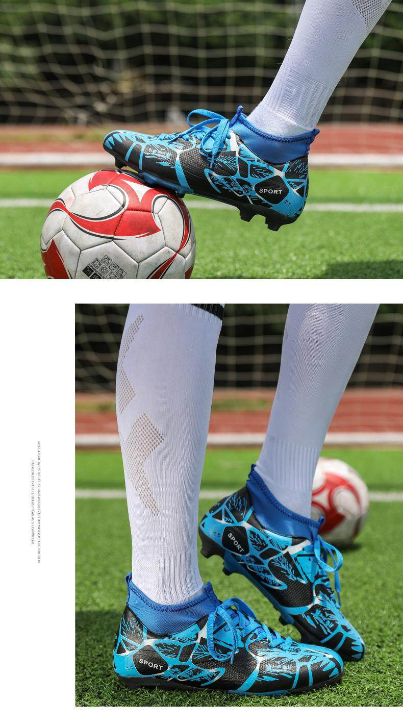 7922f4fad STRUCK 2018 Size 33-44 Men Boy Kids Soccer Cleats Turf Football ...