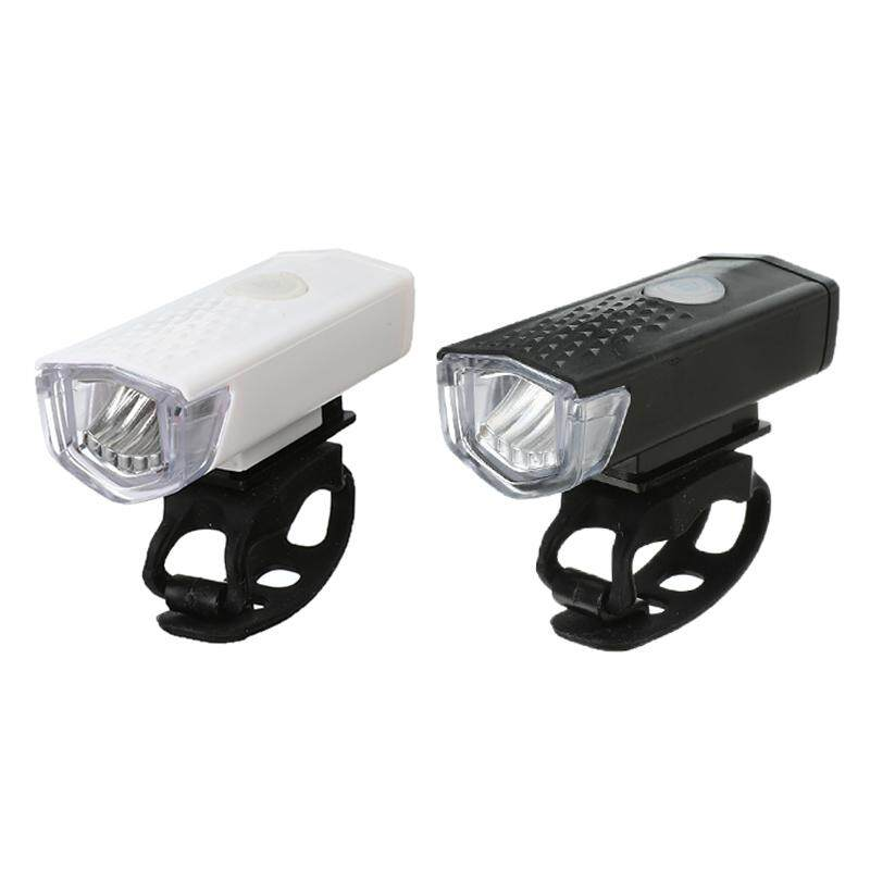 USB Rechargeable Bike Bicycle Light Bright 3Mode Head Taillight Lamp Universal