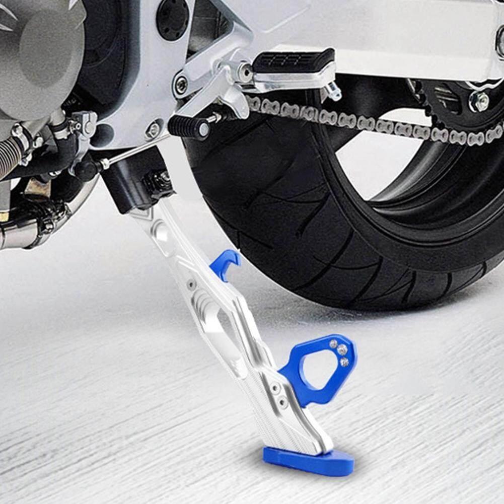 Aluminum Alloy Height Adjustable Kickstand Motorcycle Foot Bracket Stand !