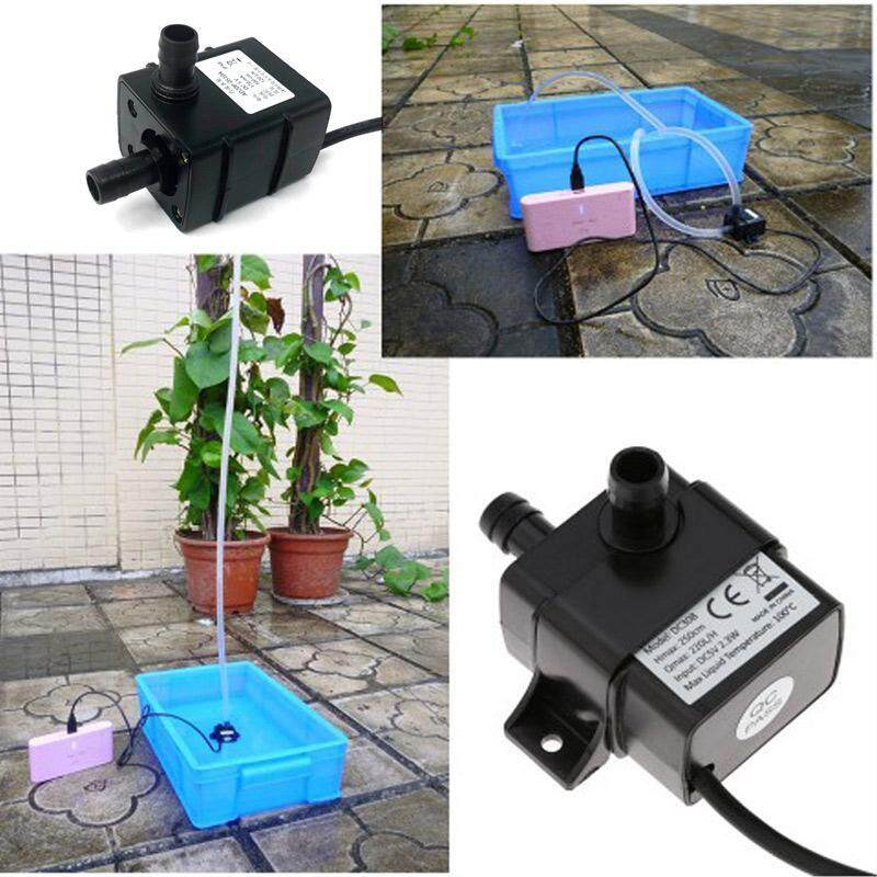 Hoopchina Micro Water Pump 5V Dc Brushless Usb Cycle Silent Pump Mini  Submersible Pump Water Circulation For Hydroponic Vegetable Food Medical
