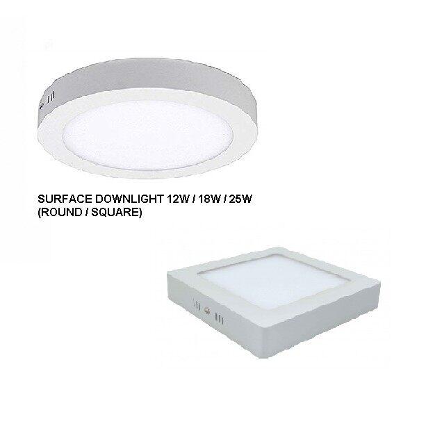 12w 18w 25w Led Surface Downlight