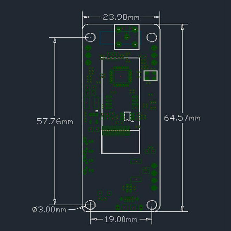 TTGO T-Journal ESP32 Camera Module Development Board OV2640 SMA WiFi 3dbi  Antenna Fisheye Lens