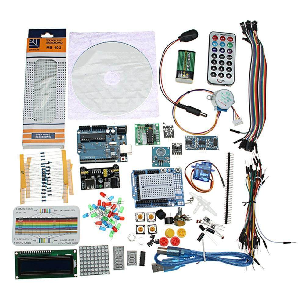 UNO R3 Project Complete Starter Kit With Detailed Tutorial Mega2560 For  Arduino