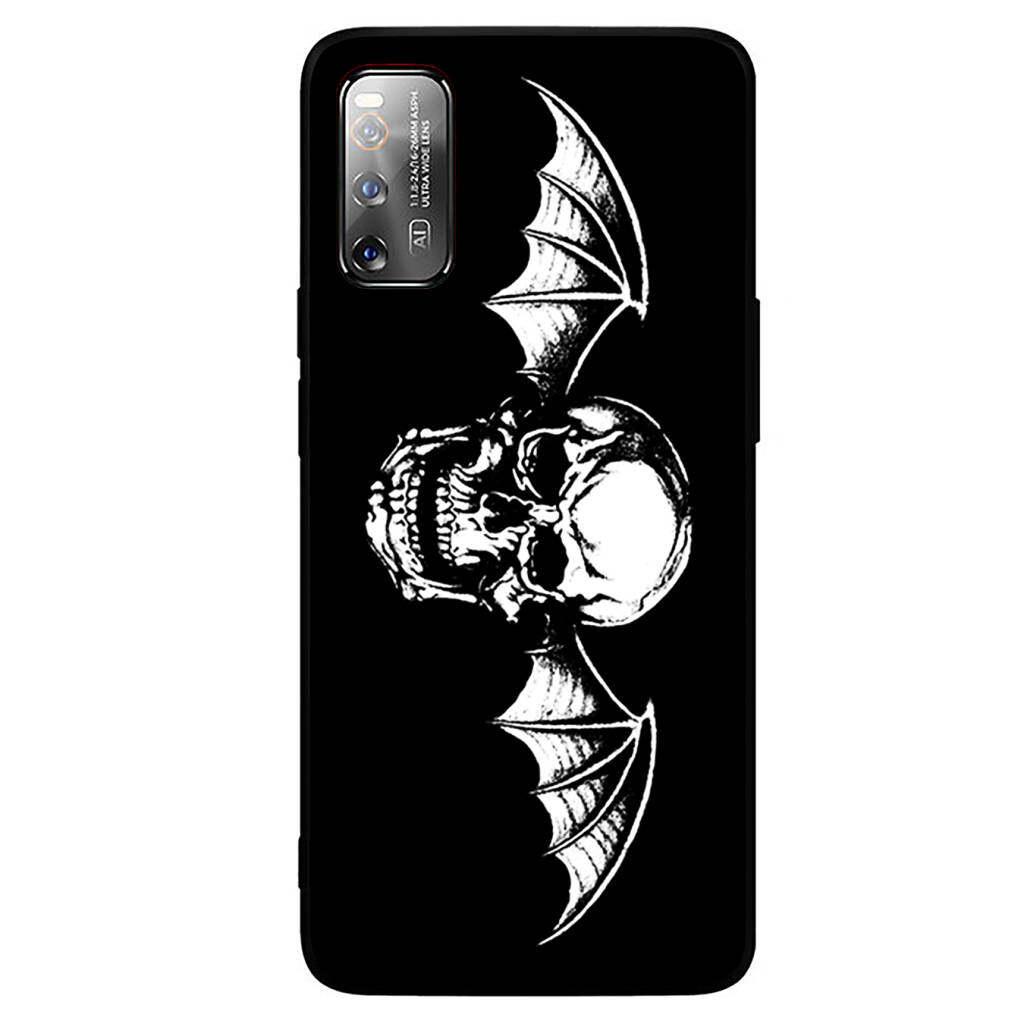 Soft Silicone Cover Case For Xiaomi Redmi Note 9s 8 8t 7 6 5 9 K30 K20 Pro Max 7a 8a Mi Avenged Sevenfold A7x Shadows Black Tpu Phone Case Lazada