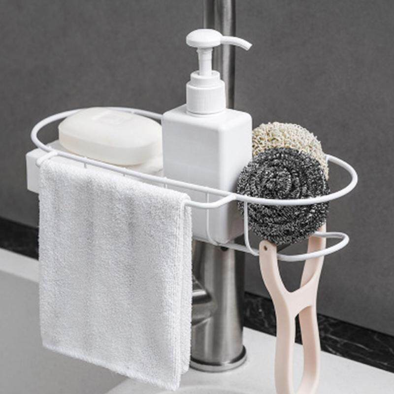 Storage Drying Drain Rack Suction Cup Holder For Kitchen Sink Sponge Toilet Y