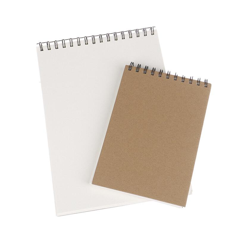 Buku Sketsa Kertas Kraft Singkat Yang Indah A4 A5 A3 Buku Sketsa Kumparan Seni Profesional Lazada Indonesia