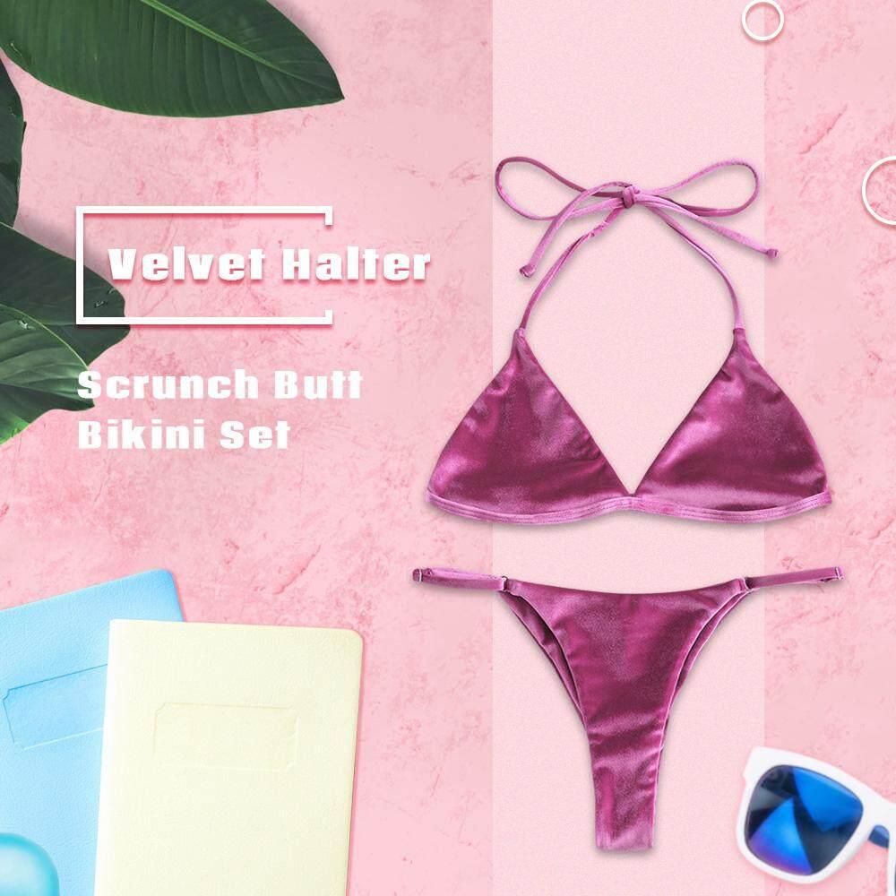6ecad8793110 ZAFUL Brand New Summer Women Bikini Set swimwear push-up padded bra ...