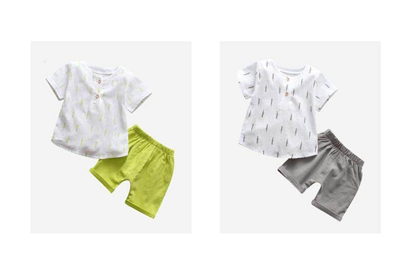 ffd18465b2 Specifications of Baby Clothing Sets for Boys Summer Clothes Fashion Cotton  Linen Set Printed Fruit Sports Suit Toddler Boy T-Shirt + Shorts Children'S  ...