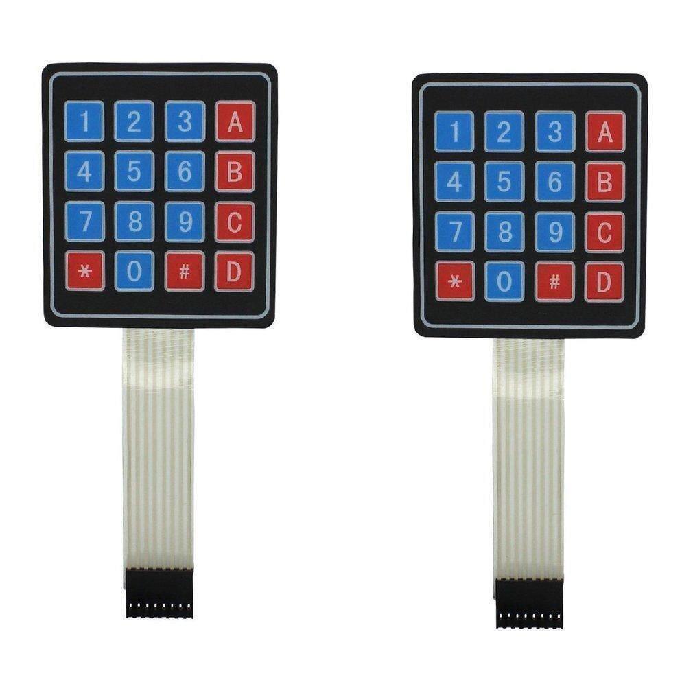 2PCS 4 x Matrix Array 16 Key Membrane Switch Keypad Keyboard for Arduino AVR