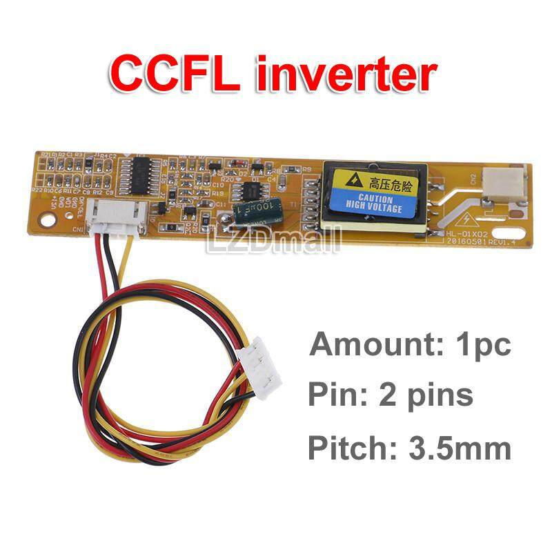 1pc Universal 1 Lamp CCFL Inverter Board Small Port High Pressure Plate for  LCD Screen Panel Monitor Pitch 3 5mm