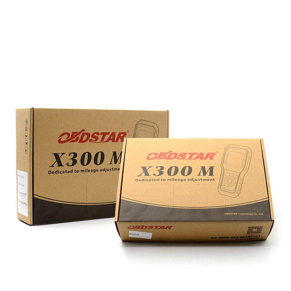 Original OBDSTAR X300M X300 M OBDII Odometer Adjustment Mileage Correction  Tool (All Cars Can Be Adjusted Via Obd) Updatable