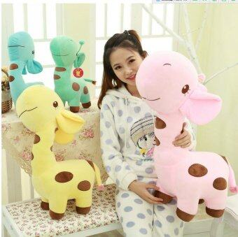 Harga 1 PC Unisex Cute Gift Plush Giraffe Soft Toy Animal Dear Doll BabyKid Child Girls Christmas Birthday Happy Colorful Gifts