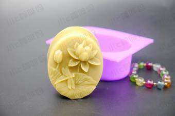 100g hot selling soap relief Lotus Mold