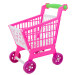 11.8'' Mini Shopping Cart with Full Grocery Food Toy Playset for Kids Toys