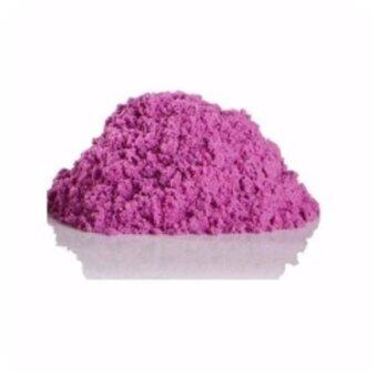 2KG Non Toxic DIY Kinetic Magic Play Sand Box Set Arts & Crafts Toys for Kids (Purple Color Sand)
