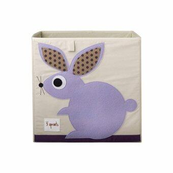 3 Sprouts Storage & Toy Organizer / Storage Bin Series C (D3-Rabbit)