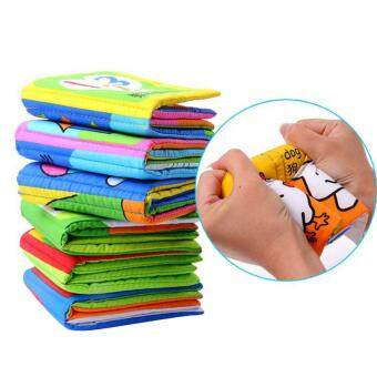 360DSC 6Pcs Washable Classic Baby Cloth Books