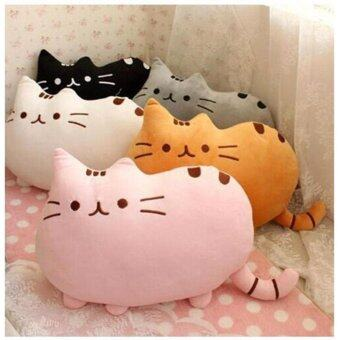 40*30cm Pusheen Cat Plush Toys Stuffed Animal Doll Animal PillowToy Pusheen Cat For Kid Kawaii Cute Cushion Brinquedos Gift