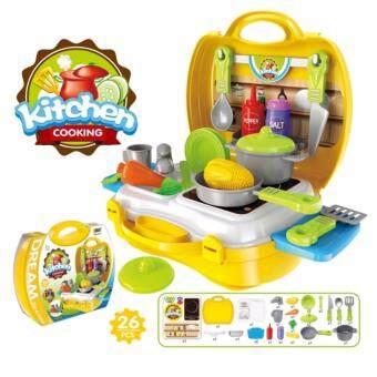 Baby PlayNLearn Children Fun Game Cook Happy Kitchen PlaySet -Kitchen