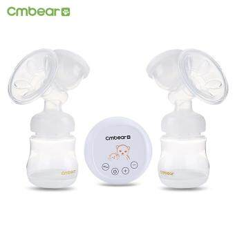 Harga Baby Toddler Manual Cmbear Massage Advanced Usb Electric DoubleBreast Pump(White)