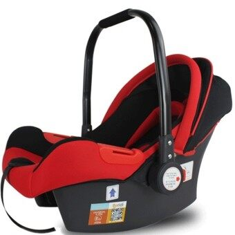 Harga Beridi Newborn Baby Carrier Car Seat Basket LC01 (Red)