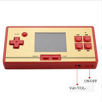 """Classic Retro Handheld Game Console children's video game player600 Games+128 games in Card 2nd Player Controller for FC pocket"" - 4"