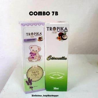 Combo 7B - Tropika Baby Hair & Body Oil Lavender (30ml) &Tropika Body Oil Citronella (30ml)