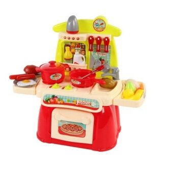 Harga Cook Happy Kitchen PlaySet (Red)