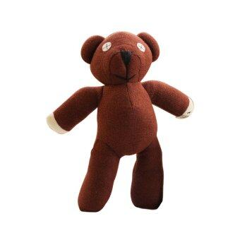Cosplay Mr. Bean Teddy Bear Plush Toy Doll (Brown)