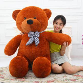 Cute Dark Brown Stuffed Toys Animal Teddy Bear Plush Soft Toy 80CM