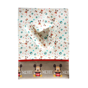 Harga Disney Baby 4pcs Travelling Mattress Set - Mickey