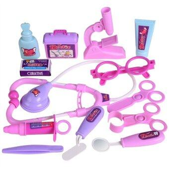 Doctor Toys for Kids Pink & Purple - 4
