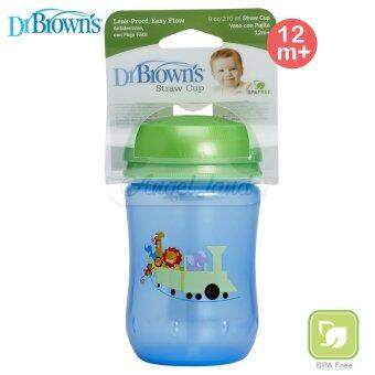 Dr Brown?s Straw Cup 270ml 12m+ Blue (30086) - 5