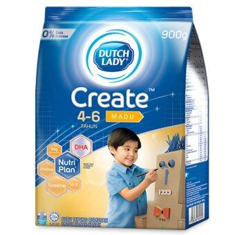Dutch Lady Create (4-6 Years) 900g Honey