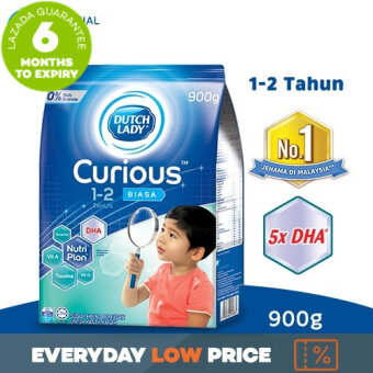 Dutch Lady Curious(TM) 1-2 Plain 900g