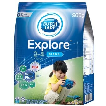 Dutch Lady Explore(TM) 2-4 Plain 900g