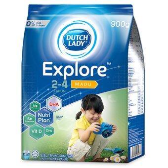 Dutch Lady Explore (2-4 Years) 900g Honey (3 packs)