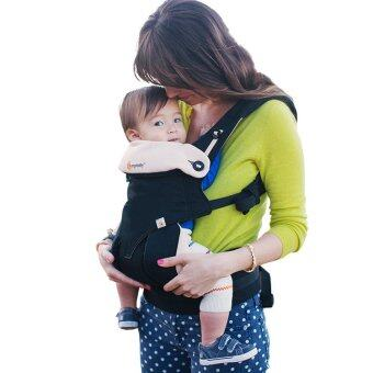 Ergobaby Baby Korea Style Carrier Top Baby Sling Hipseat four style360 baby baby sling cotton multifunction baby carrier air section-Black Camel