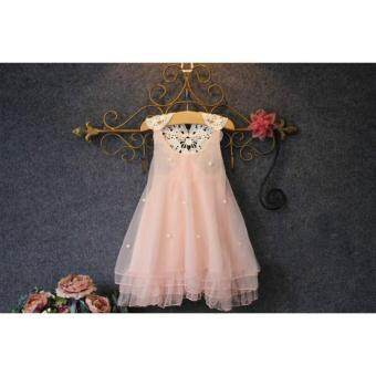 Fashion kids clothes Flower Girl Spring Summer Princess Dress Kid Baby Formal Party Wedding Lace Tulle Tutu Dresses