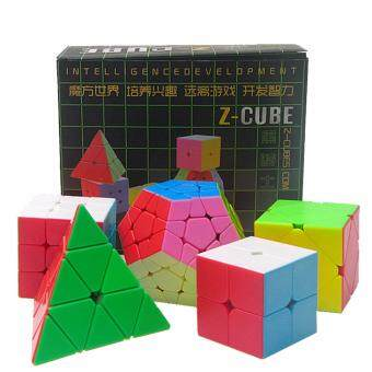 Harga Five Woolly Rubik's Cube Small Box Color Educational Toys