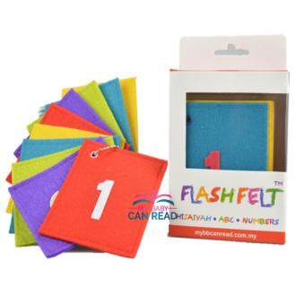Harga Flash Felt Numbers
