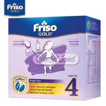 Friso Gold Bright Star Milk Powder Step 4 (3+ years) 400gx3