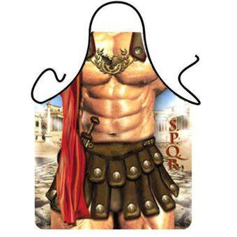 Funny Apron Bikini & Shorts Sexy Kitchen Apron Funny CreativeCooking Apron - Warrior