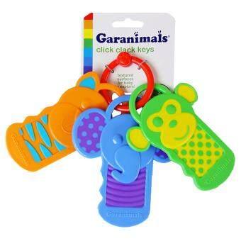 Garanimals Click Clack Keys Baby Teether Toy Keys Teether Rattle