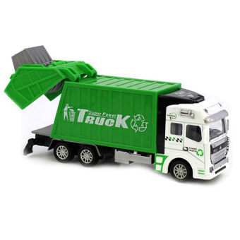 Garbage truck Car Model Alloy Toy Car Children Toy Gift