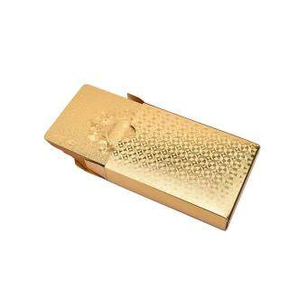 Golden Playing Cards Deck Magic card Plastic foil poker WaterproofCards - 3